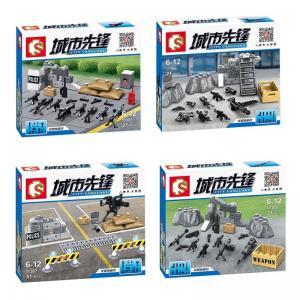 4Sets-SWAT-Police-City-Vanguard-Weapon-Tool-Sandbag-Gatling-Gun-RPG-M4-Minifigure-Building-Toys-11305.jpg